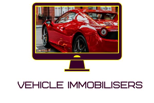 Immobilised vehicle