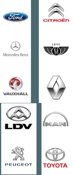 Image of vehicle logos