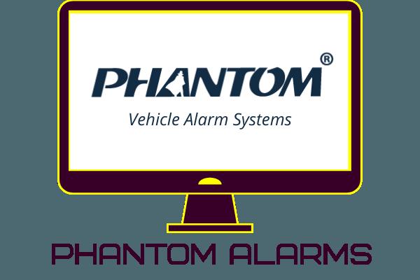 Image of Phantom alarms logo