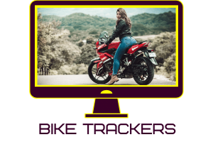 image of a girl on a motorbike
